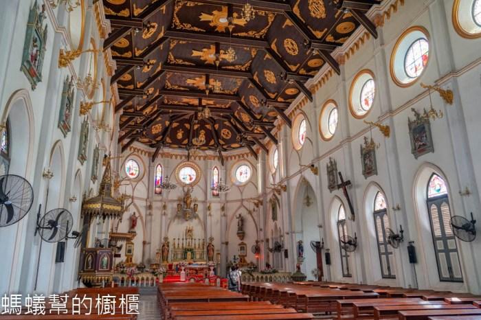 哥德式古老教堂 | 泰國最美的天主教堂之一。Nativity of Our Lady Cathedral(โบสถ์แม่พระบังเกิด)