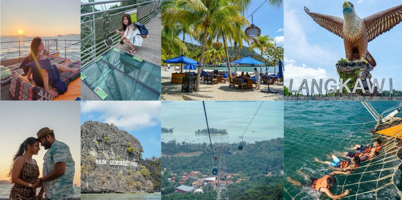 蘭卡威旅遊推薦 | 馬來西亞蘭卡威必玩景點,四天三夜行程,高空纜車、天空步道、賞鷹、帆船出海。