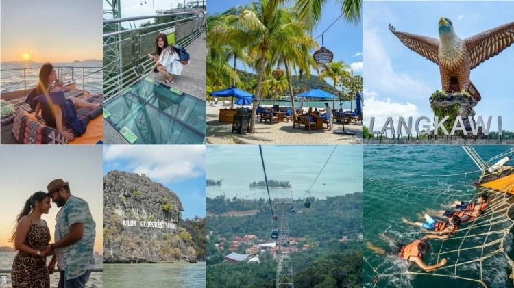 蘭卡威旅遊推薦   馬來西亞蘭卡威必玩景點,四天三夜行程,高空纜車、天空步道、賞鷹、帆船出海。