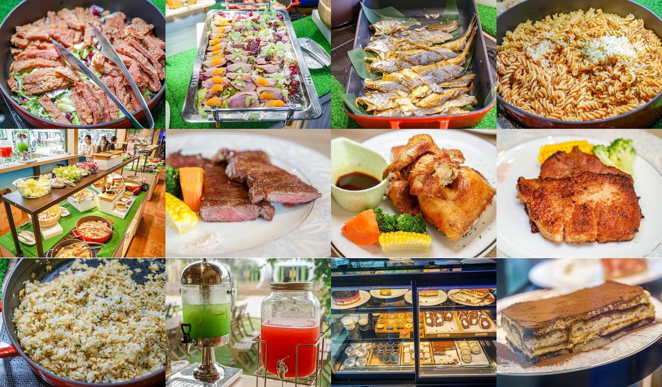 琉璃仙境 | 員林高CP值自助吧吃到飽,點排餐就能享用精緻吃到飽,彰化親子園地。