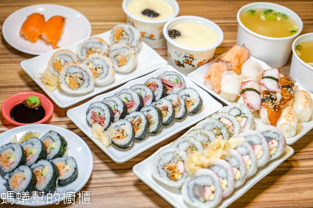 奕米捲壽司(花壇中正店)   20元起平價壽司,數十種創意口味,輕鬆帶著走,另有外送服務。