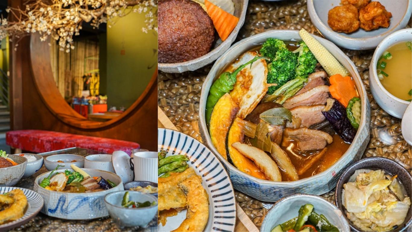 金雲堂人文茶館   自家調配辛香料,醇厚湯咖哩,中國風典雅用餐環境,員林大同路美食推薦。
