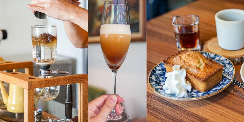 煮煮陶鍋咖啡 鹿港特色虹吸式咖啡,享用不同咖啡單品,鹿港咖啡館推薦。