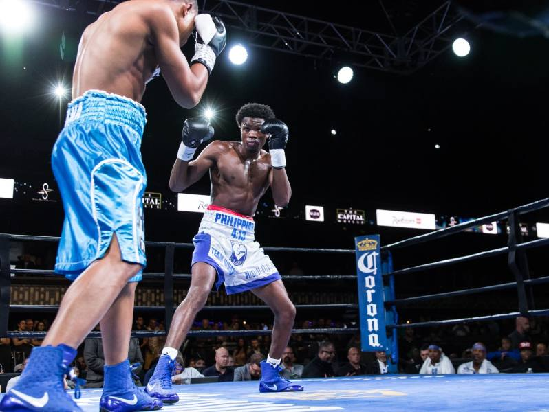 Photos  A night of boxing at the Armory in Minneapolis   MPR News Lacey Young   MPR News Boxing
