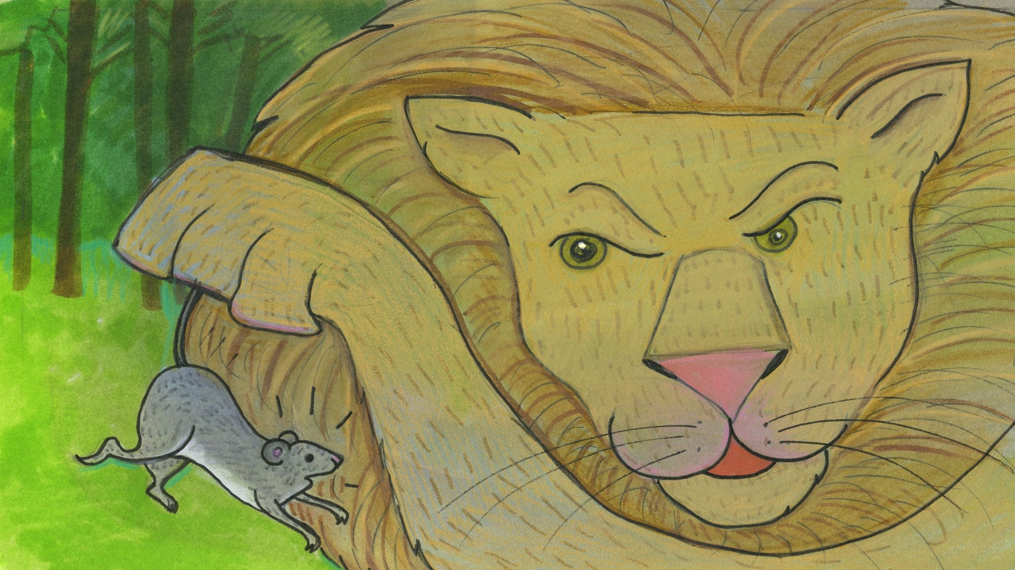 Classical Kids Storytime The Mouse And The Lion