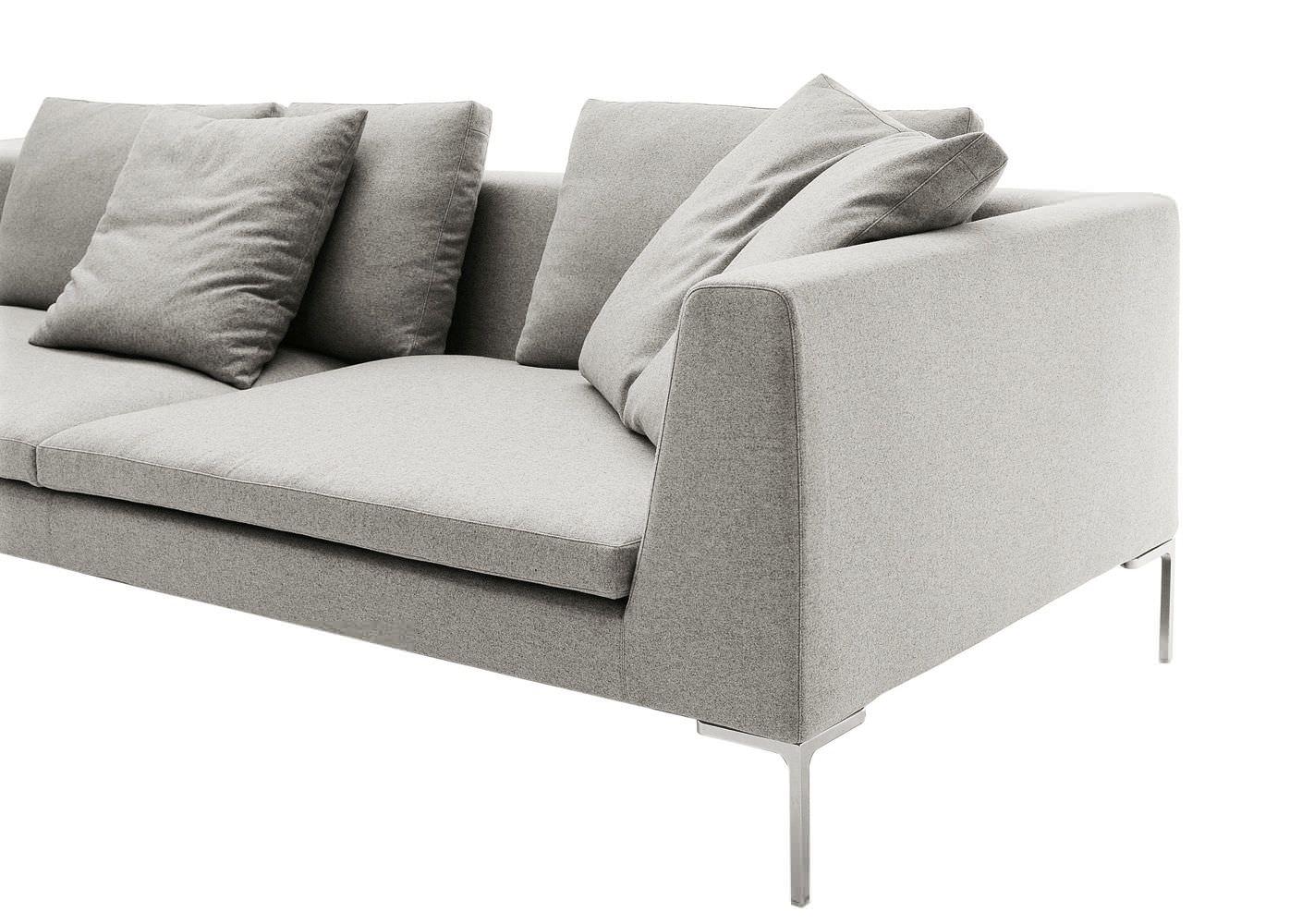 modular sofa contemporary leather fabric charles large bb italia furniture prices