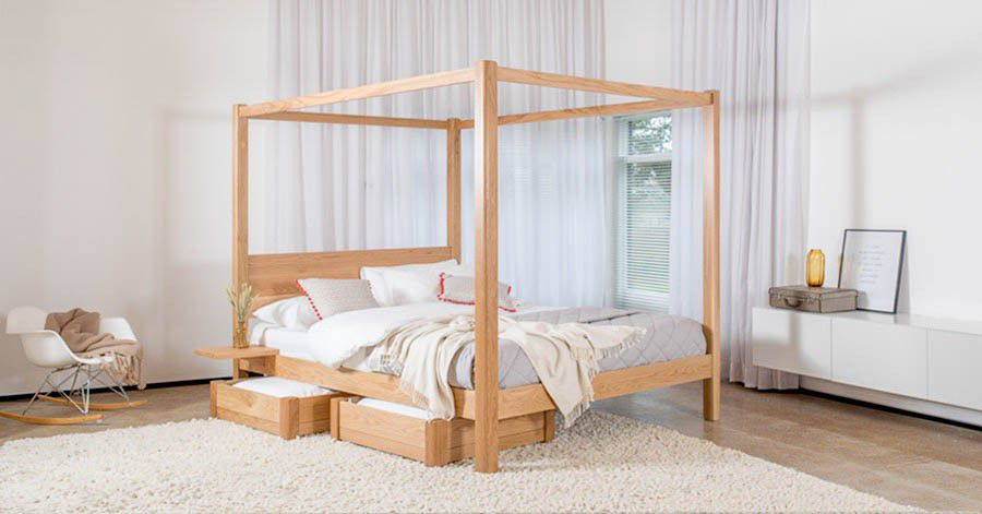 canopy bed four poster classic get