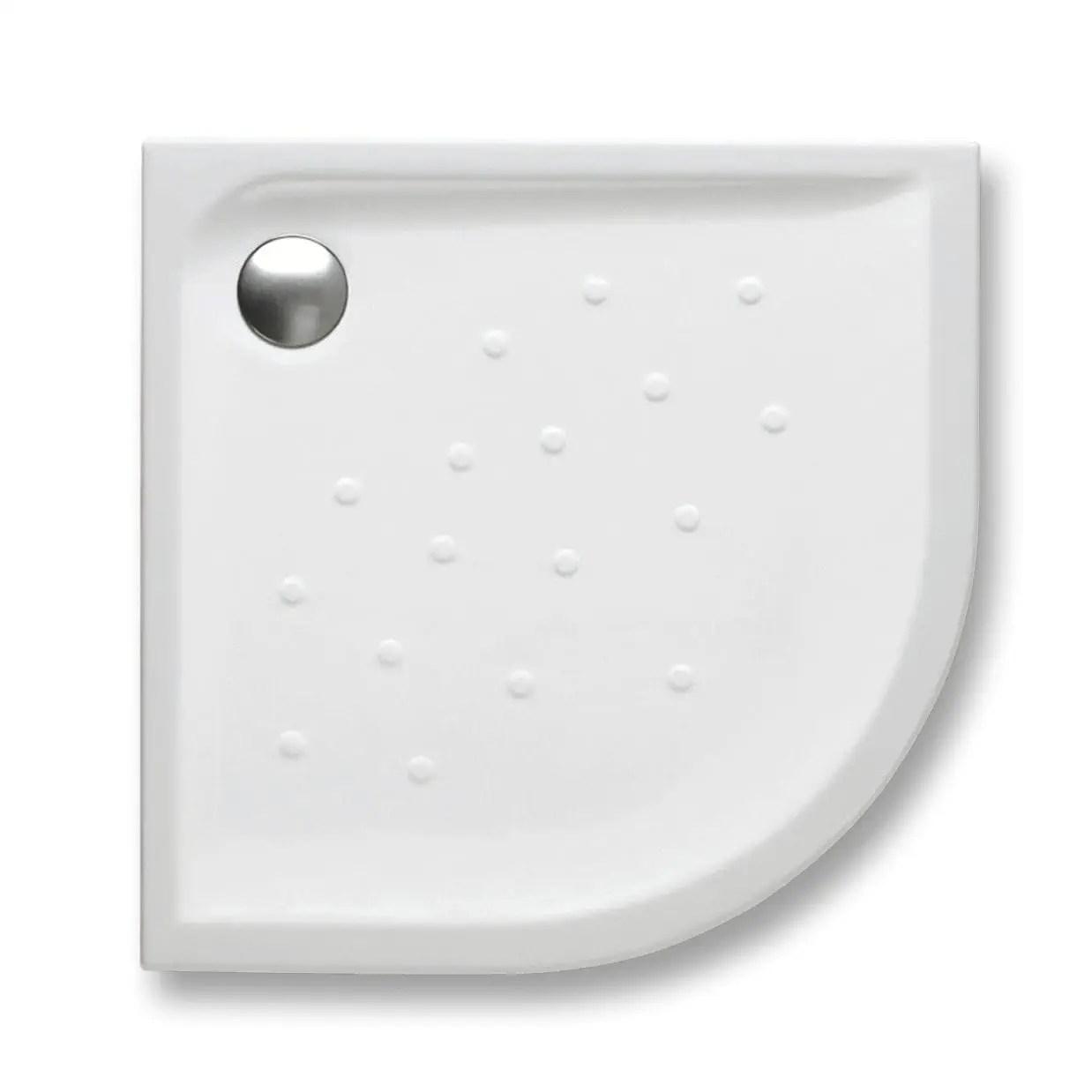 Corner Shower Base Malta Roca Floor Level Porcelain Non Slip