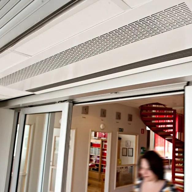 recessed air curtain ar200 series