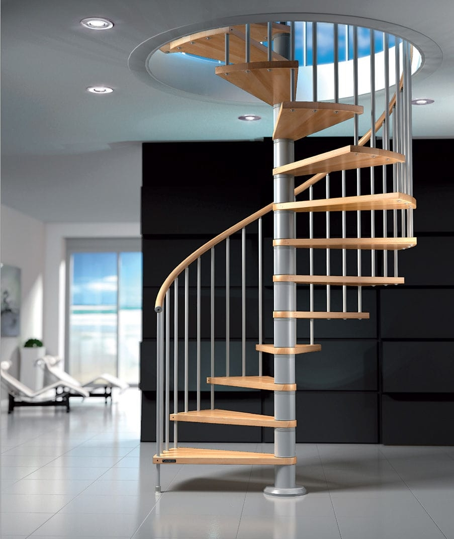 Spiral Staircase Fox Mobirolo Metal Frame Wooden Steps   Metal Spiral Staircase For Sale   Cast Iron   Stair Railing   Staircase Kits   Wrought Iron   Handrail