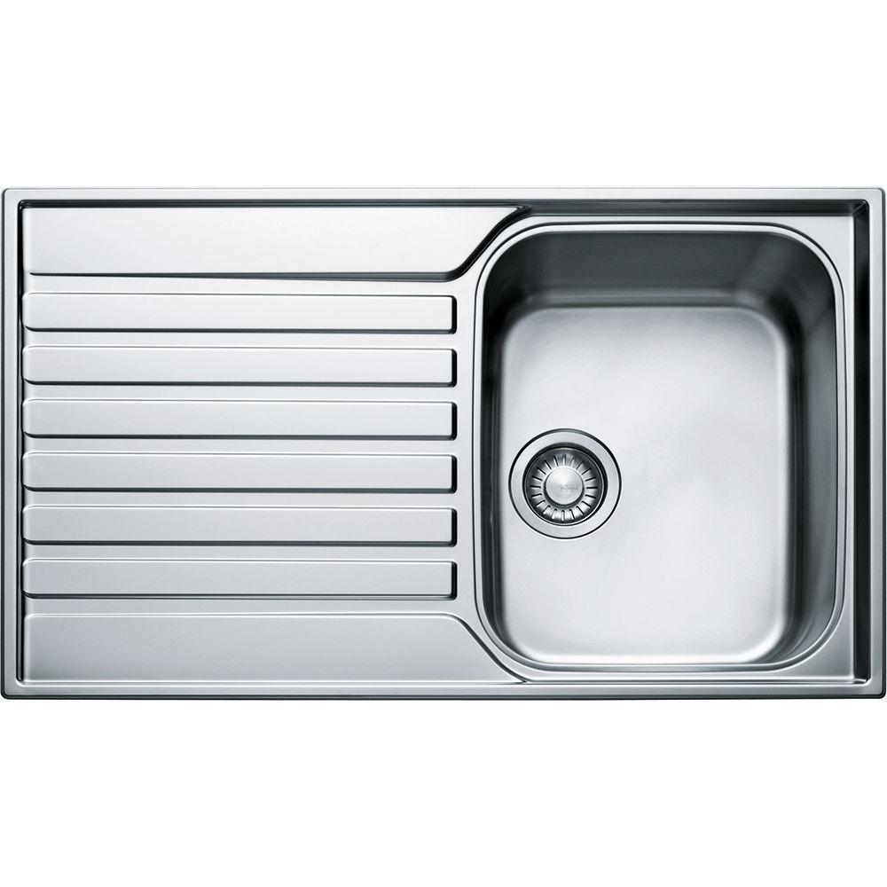 single bowl kitchen sink ascona