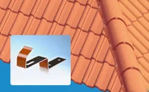 roof tile hook storm clips monier