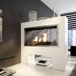 Bioethanol Fireplace Raumteilerkamin Tkg Be Kamin Design Gmbh Co Kg Ingolstadt Contemporary Open Hearth Double Sided