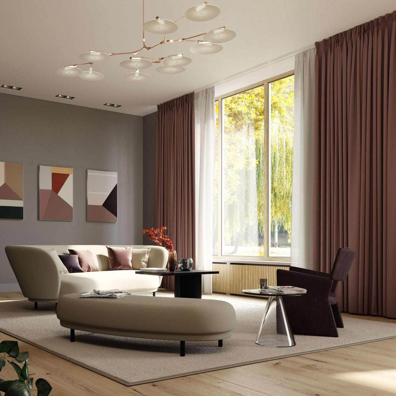 ceiling mounted curtain track casper