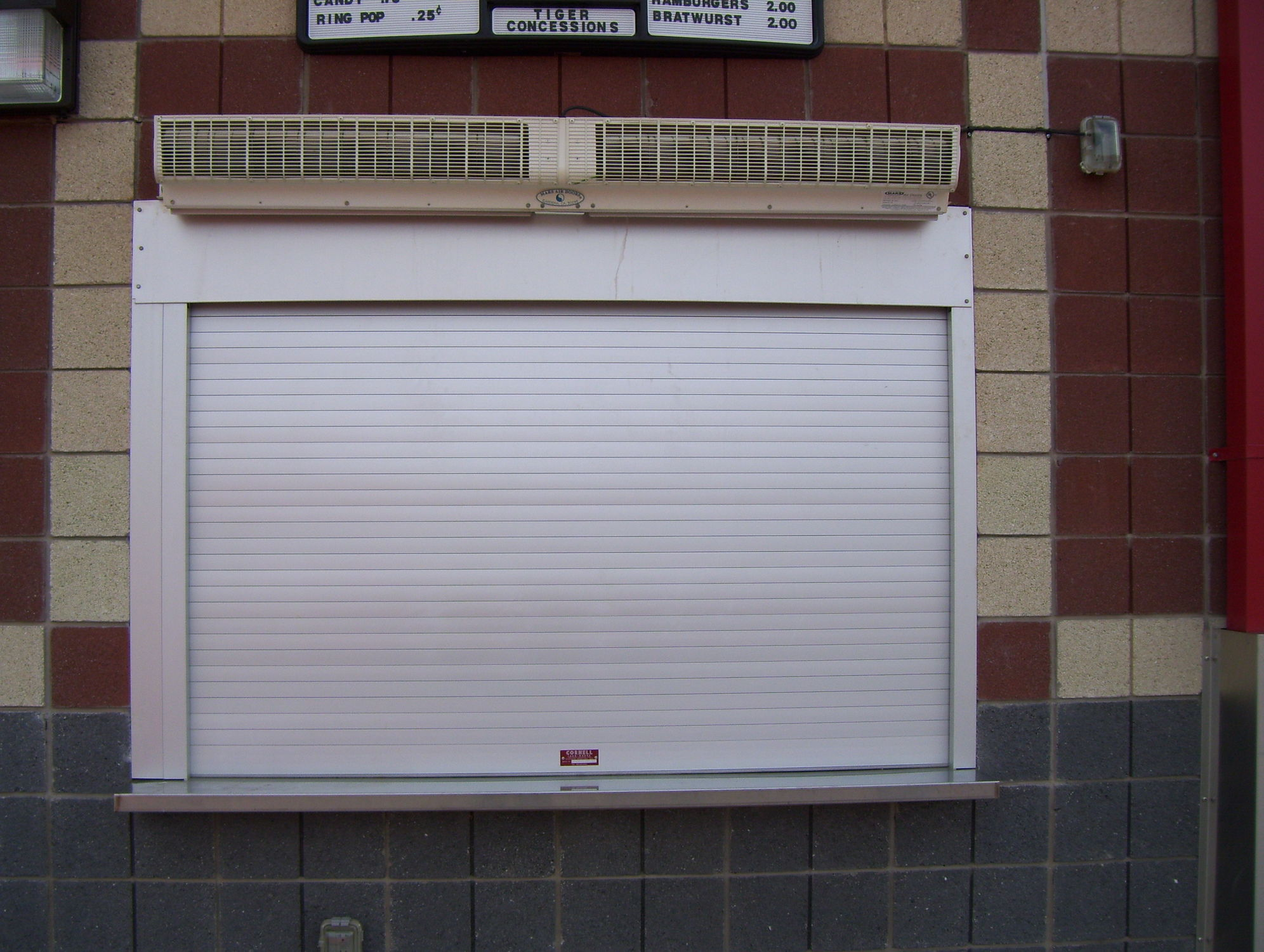 Roller Shutter Aluminum Stainless Steel Window Esc10