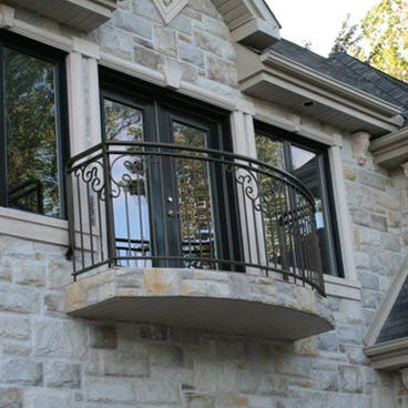 Balcony With Bars Monarch 5510 Battig Design Wrought Iron