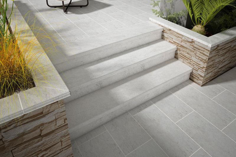 outdoor tile white stone gresmanc