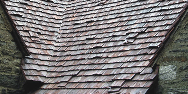 flat roof tile antique ludowici clay