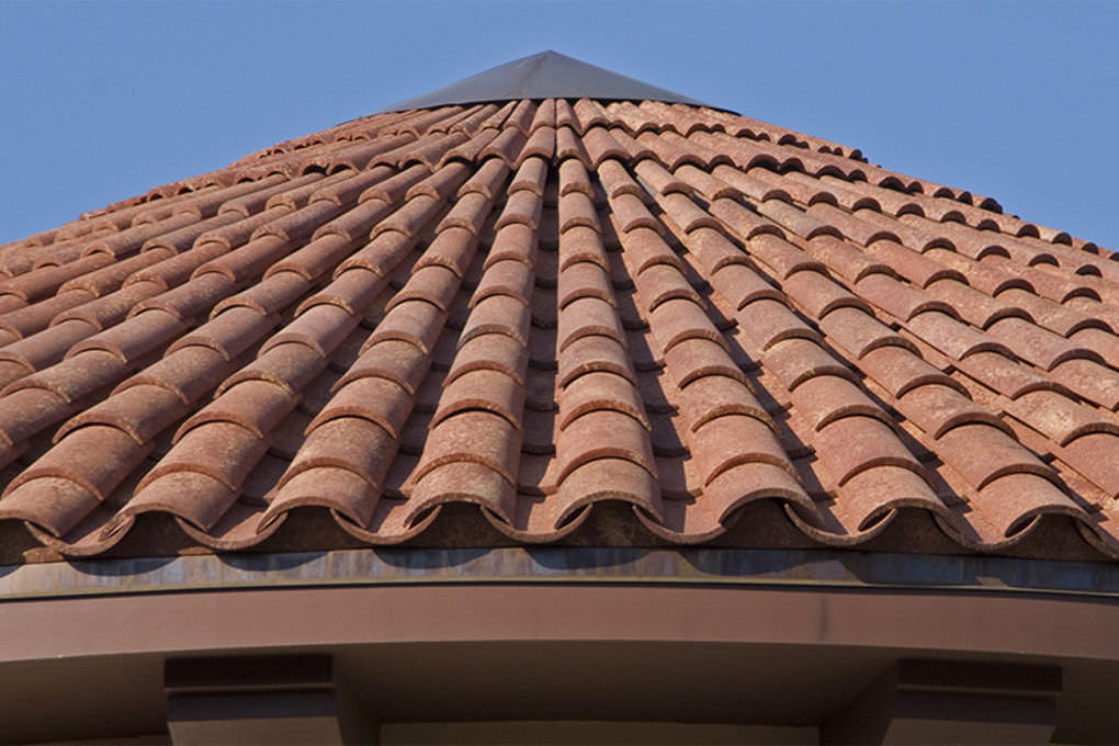 pan roof tile tower ludowici clay