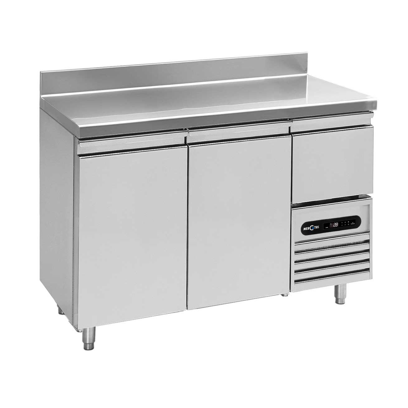 stainless steel prep table snack bar
