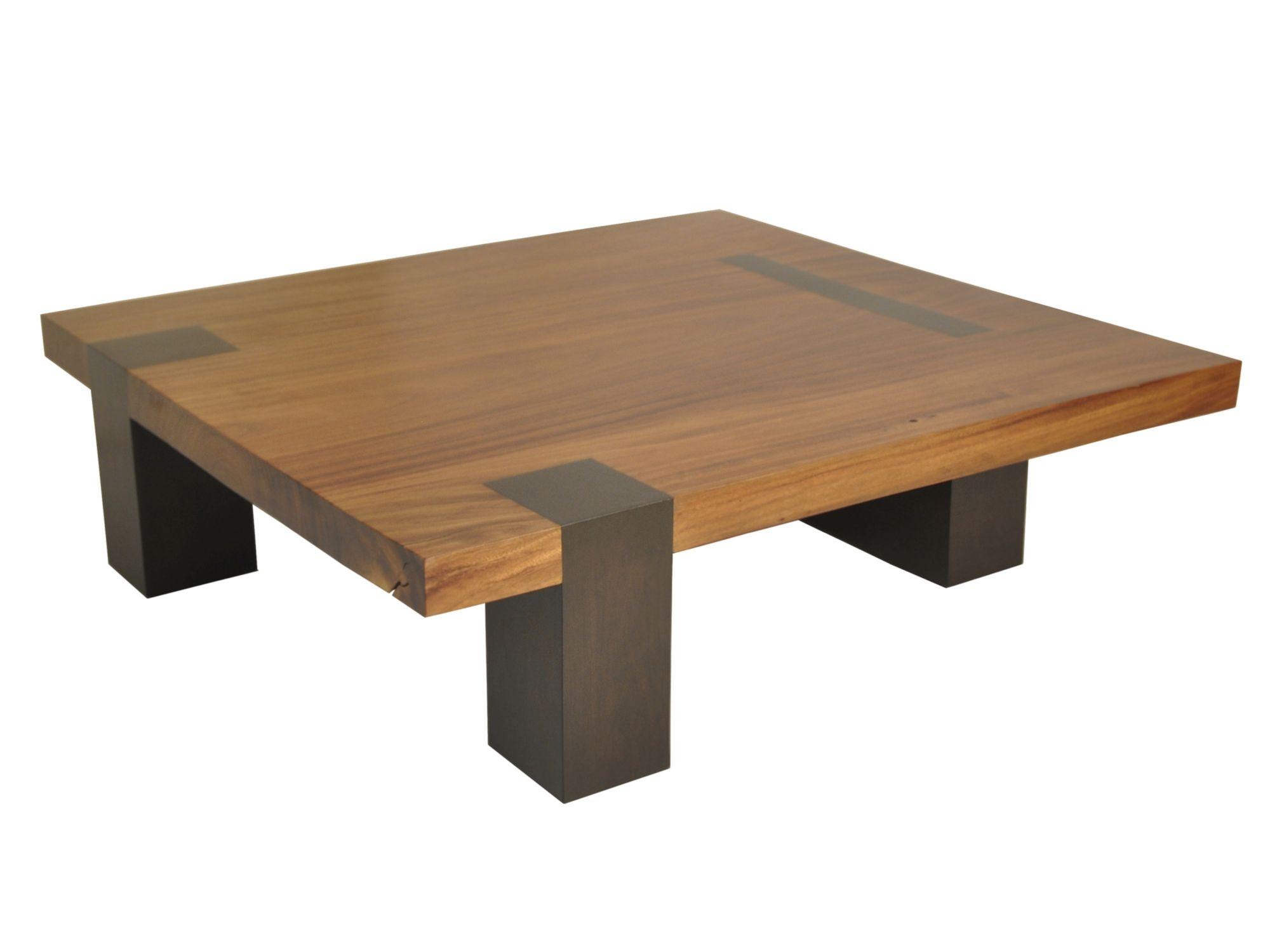 contemporary coffee table square