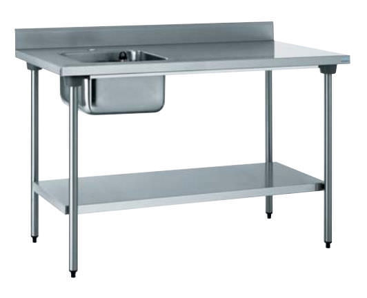 stainless steel prep table 503 202