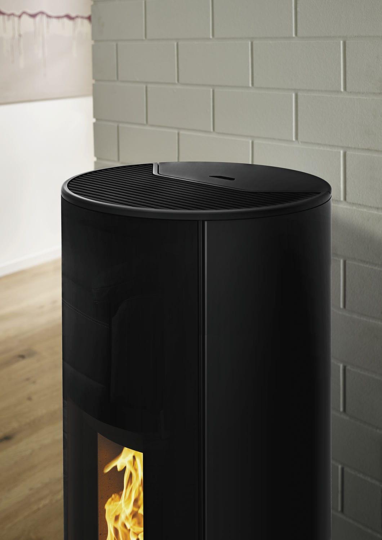 Pellet Heating Stove Corso Rika 0 5 Kw 8 Kw Contemporary