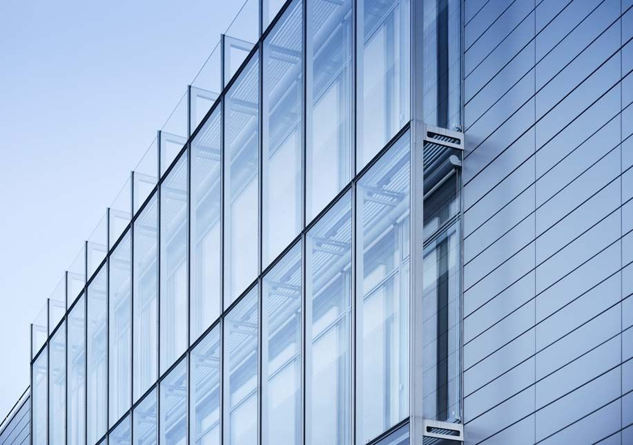 Stick System Curtain Wall Glass Aluminum Iguzzini Illumione By Maurizio Varratta Stahlbau Pichler