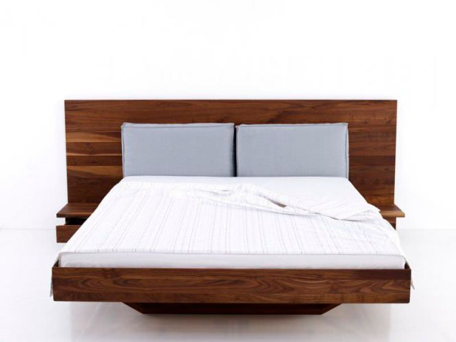 Bernard Muller Moebel Walnut Double Bed Pinterest Beds And Bedrooms