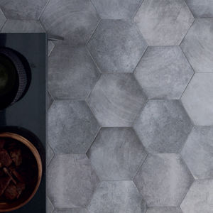 hexagonal tile all architecture and