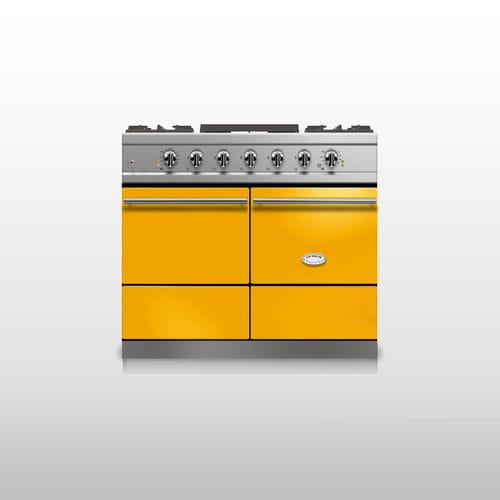Gas Range Cooker Cluny 1000 Modern Lacanche Electric Yellow
