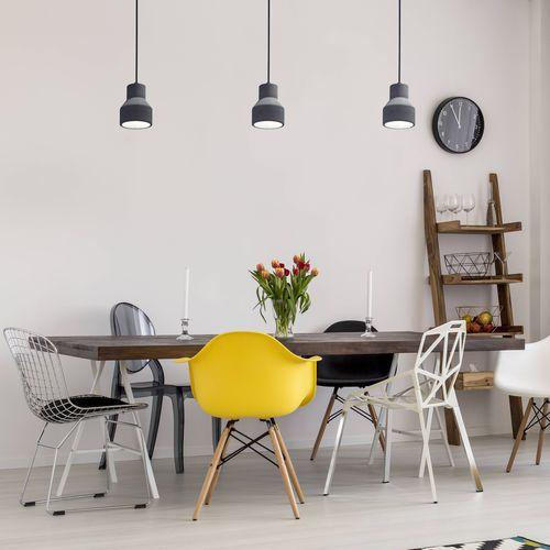 Pendant lamp / contemporary / concrete / adjustable SANDY 4 E27 : SU12055 Indigo