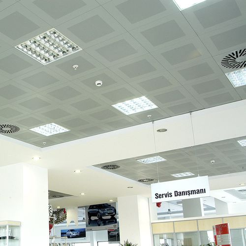 metal suspended ceiling clip in