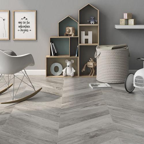 indoor tile chevron roca tile
