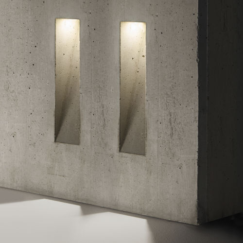 Recessed wall light fixture / LED / rectangular / outdoor GHOST Simes