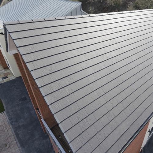 flat roof tile riven edgemere
