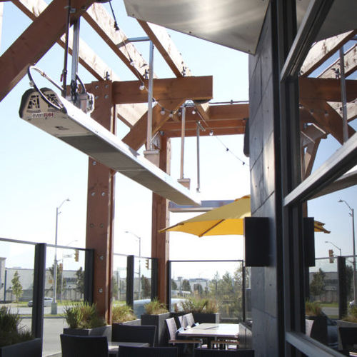 hanging infrared patio heater