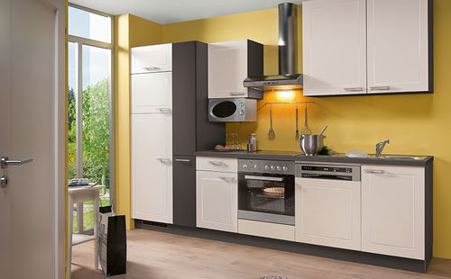 Contemporary kitchen / wood veneer / island / ecological CARAT Express Küchen GmbH & Co. KG