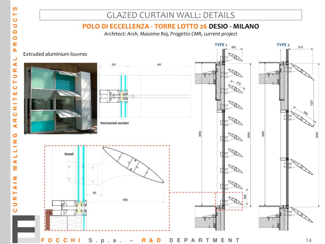 Glazed Curtain Wall Details 1 Pages