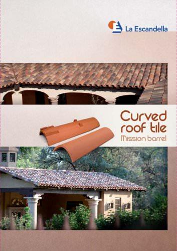 curved mission barrel roof tile