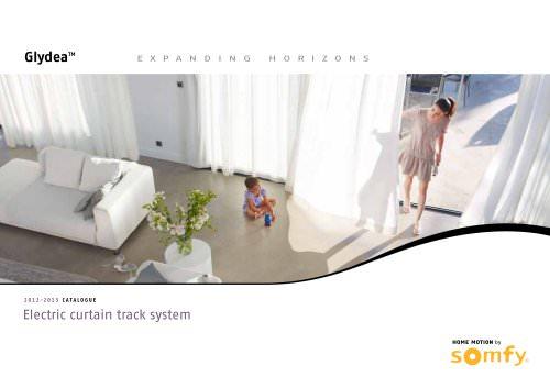 glydea curtain track system catalogue