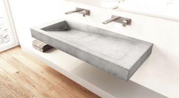 Doppeltes Waschbecken   SLANT 03 DOUBLE   Gravelli   Wand ...