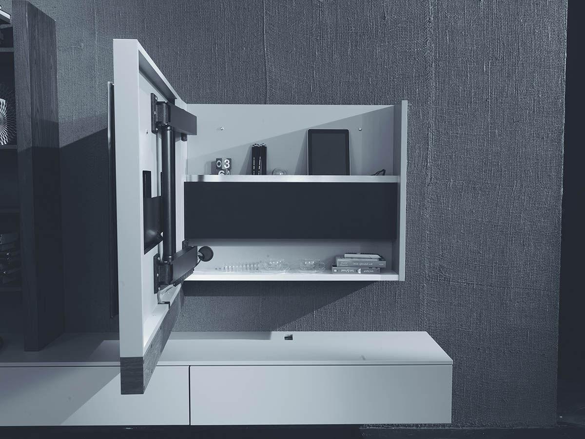 moderne tv wandhalterung evo fimar