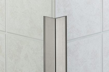 profile de finition en acier inox