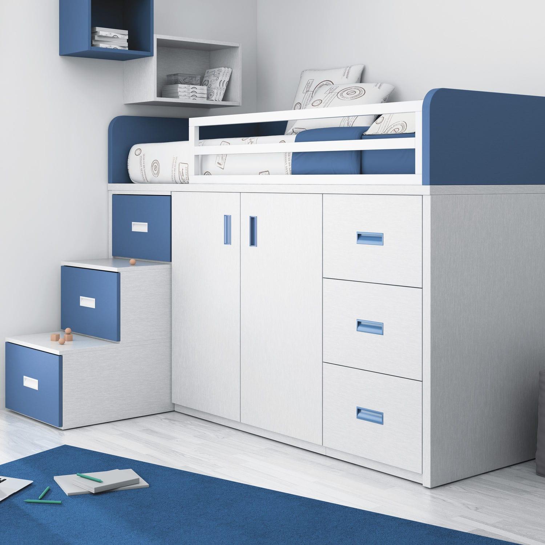 lit simple contemporain pour enfant pour garcon touch 56