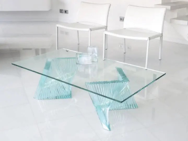 table basse contemporaine fly
