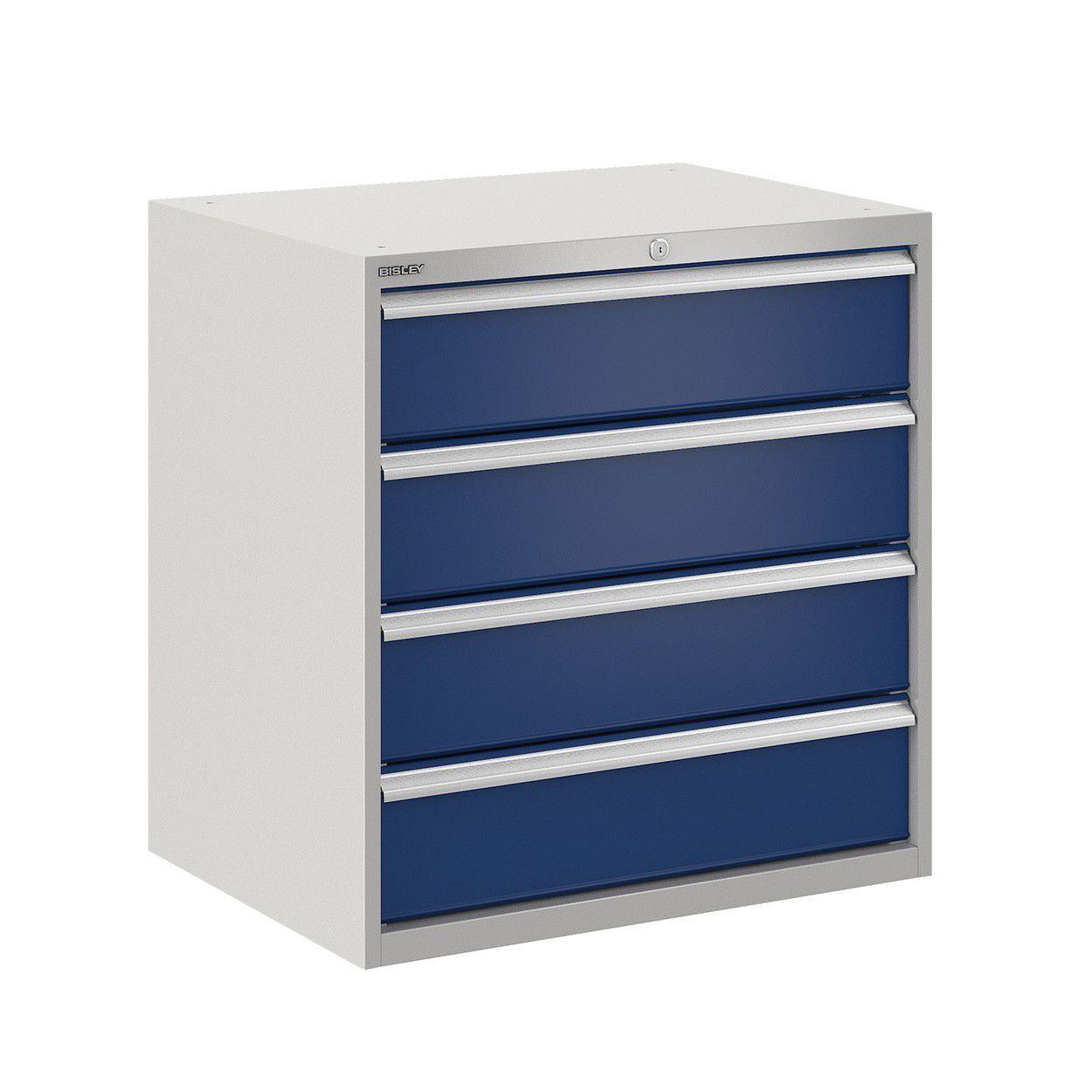 armoire de classement basse en acier a tiroirs contemporaine bis400239w