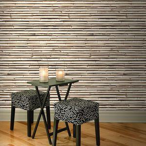 papier peint aspect bois papier peint
