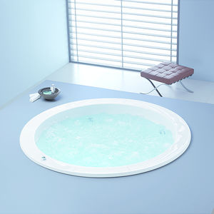 baignoire en ilot ronde en acrylique