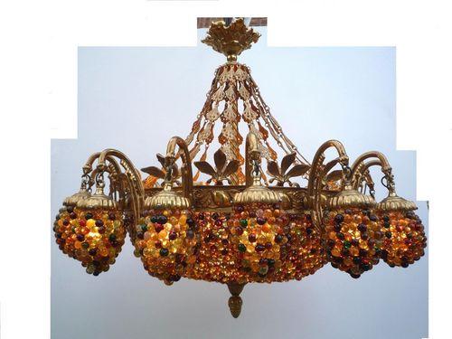 lustre de style baroque lutecia 16